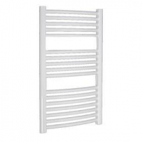 China Plastic coated curved towel radiator on sale