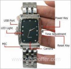 China 8GB Video Camera Watch with 300K Hidden Camera on sale