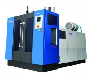 China Extrusion blow moulding machine on sale