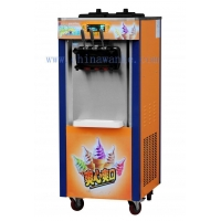 Rainbow ice cream machine