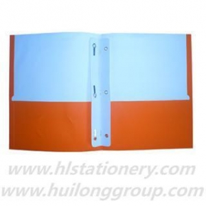 China Orange Portfolio File Folder on sale