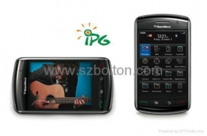 China quad band tv dual sim mobile phone copy Blackberry 9500 on sale
