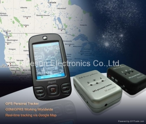 China GPS/GSM Personal Tracker,GPS - SMS - GPRS,Personal Locator. on sale