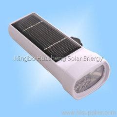 China solar powered flashlights on sale