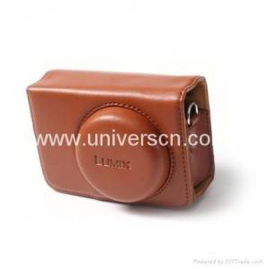 China Leather Case bags for Panasonic LUMIX DMC LX1 LX2 LX3 LX1case on sale