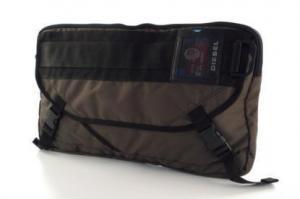 China Diesel 'Jagger Green' Men's Messenger Bag on sale