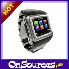 China Quad-Band Waterproof Mobile Phone Watch-Twist Camera + MP4 +... on sale