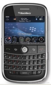 China Original BlackBerry mobile phone Bold 9000 unlock with EDGE Cell phone on sale