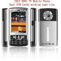 dual sim dual standby triband tv CELLphone N99I,can be used at USA