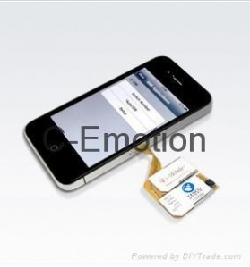 China iPhone 4 Triple SIM Card on sale