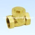 China ITB507, Brass Swing Check Valve on sale