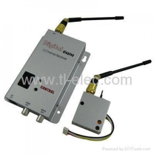 China 1.2 GHz 100mW 8ch Wireless AV Transmitter/Receiver System on sale