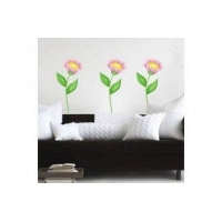 Removable Vinyl Wall Sticker P2-01A Flower Wall Decal