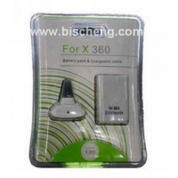 XBOX360 battery pack & chargeable cable