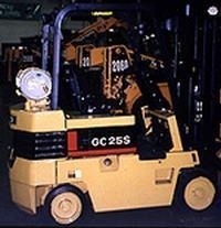 China propane forklift on sale