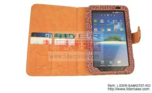 China Samsung Galaxy Tab Leather Cases, China supplier on sale