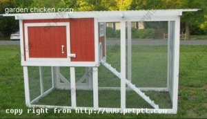 China Garden chicken coop Hen house Item No. DFCC-115 on sale
