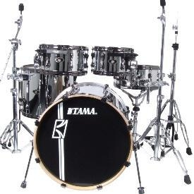 b99a67fdbe9d Tama Superstar Custom Hyperdrive EFX - 5 Piece Kit - Mirror Chrome ...