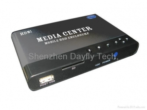 China HDD Portable Media Player with HDMI Output, Supports RMVB and RM Video Formats on sale