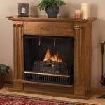 China Petite Cathedral - Gas Fireplace by Real Flame on sale
