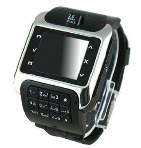 China 1.3 inch touch screen watch phone, bluetooth mp3 FM on sale