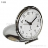 China Slim Metal Travel Alarm Clock for sale