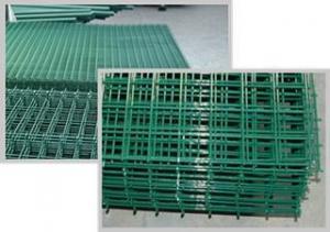 China PVC Coated Welded Mesh Panels on sale