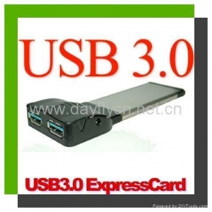 China New products SuperSpeed USB3.0 2Ports PCMCIA Express Card on sale