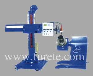 China Precision type welding manipulator and double chuck welding positioner on sale