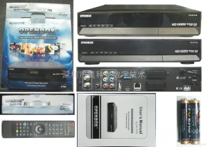 China Digital Satellite Receiver DVB-S2 OPENBOX S9 OPENBOX on sale