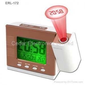 China Digital Projection Clock with LCD Calendar on sale