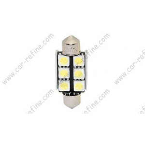 LED Festoon 38MM-6SMDcan-bus led