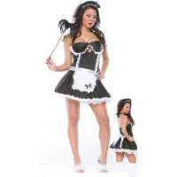 Sexy Maid Costume Match the Panty,DL9430