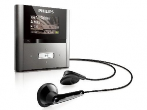China Philips GoGear Raga 4 GB MP3 Player (Silver) on sale