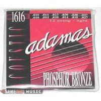 Adamas Phosphor Bronze 12-String Acoustic Guitar Strings (Light, 10-47)