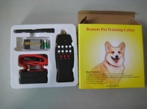 China Remote Electric Shock Dog Training Collar Anti Bark 8LV on sale