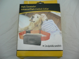 China Auto Anti-Bark Dog Training Bark Control Shock Collar on sale