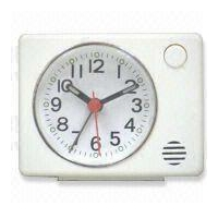 Analog Alarm Desk Clock, Suitable for Travel, OEM Orders are Welcome