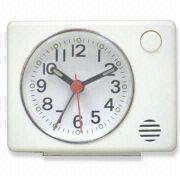 China Analog Alarm Desk Clock, Suitable for Travel, OEM Orders are Welcome on sale