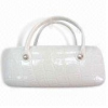 China Eyeglass Case in Handbag Shape, Available in White, Black, Blue, Green, Brown and Red for sale