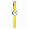 China Quartz Watch in Various Designs and Colors, Suitable for Promotional Purposes for sale