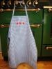China Children's Apron - Blue Gingham on sale