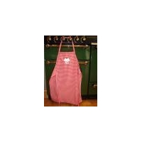 Childrens Apron - Red Gingham