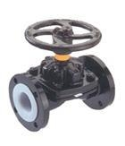 China Lined Butterfly Valve Weir-Type Diaphragm Valves on sale