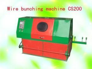China Wire bunching machine CS200 on sale