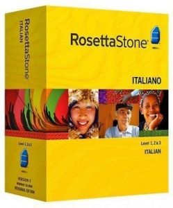 China Rosetta Stone Version 3 Italian Level 1, 2 & 3 Set For Windows on sale