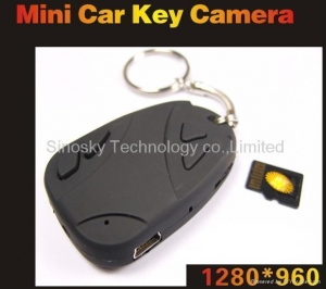 China 30% off offer Car Key Chain Camera spy Hidden DVR Video Recorder on sale