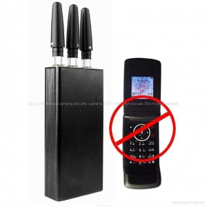 China Portable GSM/DCS/3G Cell Phone Signal Blocker shielding wireless jammer on sale