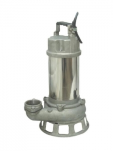 China WQF Stainless Steel Submersible sewage pump series on sale