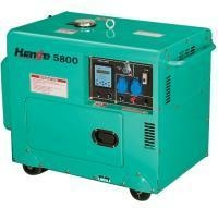 China Portable Silent Diesel Generator (HH5800SE/3) on sale